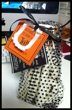Halloween Missionary Care Package Printables - several cute ideas