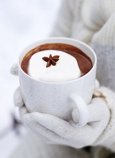 nothin like a hot cup of cocoa to warm you up