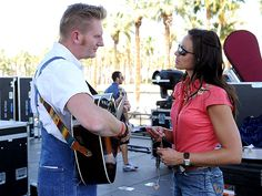 Joey and Rory Feek: Their Touching Love Story | THE JOEY + RORY SHOW | The couple released six more studio albums – including their 2011 Christmas album, A Farmhouse Christmas – and in 2012, their television show, The Joey + Rory Show, premiered on RFD-TV, and featured musical performances, recipes and glimpses into the day-to-day life of the couple and their family.