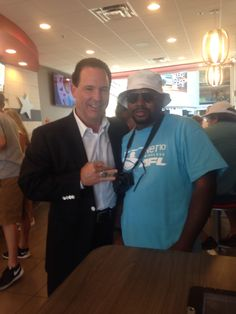 """Focus Boy meets Arena Football Arizona Rattlers Owner Ron Shurts """"Owners meeting Owners""""  Focusboysports.sportsblog.com Focus Boy Sports your Home for exclusive Entertainment!"""