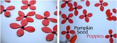 51 Poppy Craft Ideas Pumpkin Seeds #remembranceday