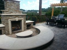 Trinity Model Outdoor Living Space
