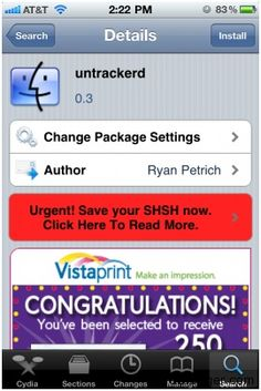 How To Turn Off Location Data Tracking on iPhone running iOS 4.2 [Untrackerd]