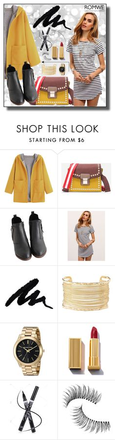"""Romwe III 1/10"" by dinna-mehic ❤ liked on Polyvore featuring Charlotte Russe, Trish McEvoy and romwe"