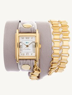 La Mer Watches: EXCLUSIVE - Nude Gold Egyptian Chain Wrap     i just love their watches. its not right how expensive they are.