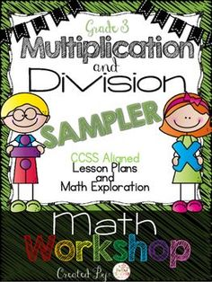 This is a FREE sample of the Multiplication and Division Math Workshop Unit with one complete lesson for third grade.  This is a great way to decide if you want to purchase any of the math workshop units!In this FREE sampler you will find lesson 5- reviewing multiplication, where the lesson is detailed in scripted math workshop structure including a math warm up, the teaching point, active engagement, and a closing.