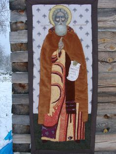 Orthodox ICON St. Sergius Radonezh Miracle-worker от warmquilts