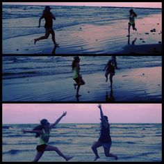 Best friends beach fun the first night:) cool i want a picl like thisss