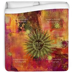Bring on the Shabby Chic style with our Sun Collage bedding at http://www.visionbedding.com/sun-collage-queen-full-comforter-p-226305.html