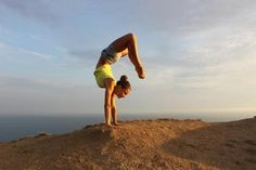 Photographic Print: Handstand by ivbar : 24x16in Yoga Inversions, Handstands, Reiki Meditation, Lose 30 Pounds, Strong Body, Asana, Looking Stunning, Professional Photographer, Body Weight