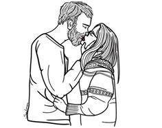 #love #illustration #hipster