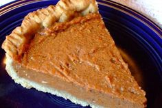 I will be making this for sure! Vegan Treats, Vegan Foods, Vegan Desserts, Just Desserts, Dessert Recipes, Tofu Recipes, Vegetarian Recipes, Recipies, Perfect Pumpkin Pie
