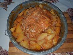Lulu - Povesti din Bucatarie: Cartofi cu fleica la cuptor Meat, Chicken, Pork, Cubs