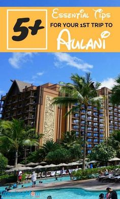 Tips for a Luxury Family Vacation at Aulani Planning a trip to Disney's Aulani Resort in Ko Olina, Hawaii on the island of O'ahu? Secrets that every first timer needs to know – what to pack (and what not to), activities, photo tips, and more. Disney Destinations, Family Vacation Destinations, Disney Resorts, Disney Vacations, Vacation Ideas, Disney Travel, Disney Aulani Resort, Disney Hawaii Aulani, Disneyland Trip