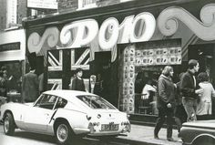 Pop Boutique, Carnaby Street, London 1966.