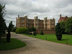 Image of Doddington Hall, Lincolnshire image gallery Grand Homes, Great Britain, Home And Garden, England, Mansions, House Styles, Building, Model, Gardens
