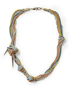 Tinley Road Knotted Multi Chain Necklace | Piperlime