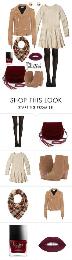 Patrizzia17.12.2016b by patrizzia on Polyvore featuring moda, Hollister Co., Yves Saint Laurent, Franco Sarto, Rebecca Minkoff, River Island and Charlotte Russe