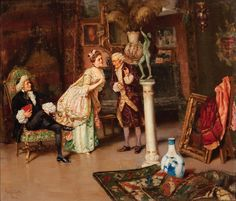 ludovico marchetti: 1 thousand results found on Yandex.Images Johnny Mathis, Great Paintings, Rococo Style, Antique Paint, The Collector, Kitten, Sculpture, Antiques, Yandex