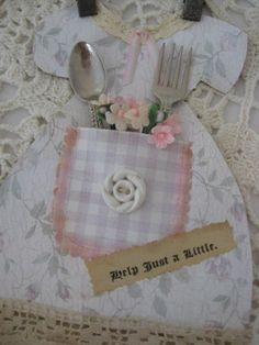 Altered Wall Paper Dress | by littlethings1