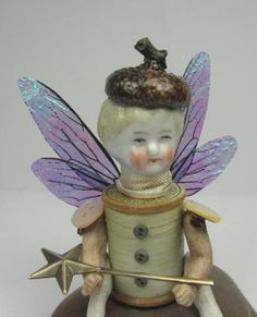 Fairy Assemblage Art Doll