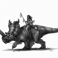 Tonight's old west Dino rider. I love Native American culture and an old west…