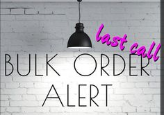 Placing a bulk order TODAY!  Want the June Kudos, but don't want to pay shipping?  Email me at jennifersgammon@gmail.com!