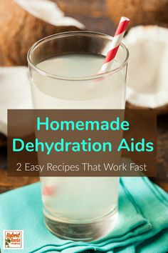 Two Easy, Natural Dehydration Aids Yummy Smoothie Recipes, Vegan Smoothies, Drink Recipes, Healing Herbs, Natural Healing, Tumeric Lemonade, Drinks For Dehydration, Pinapple Juice, Metabolism Boosting Foods