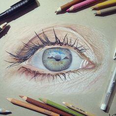 Картинки по запросу картины акварельными карандашами