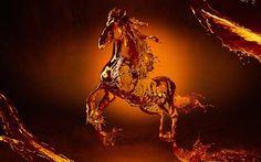 3D Horse Hd Desktop wallpapers at Hdwallpapersz.net