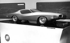 Advanced Styling Model For Buick Riviera