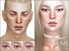 The Sims Resource: Lumi Skin by Pralinesims • Sims 4 Downloads