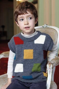 sweater for boys - Örgü Modelleri - Baby And Women Baby Girl Sweaters, Boys Sweaters, Baby Sweater Patterns, Baby Knitting Patterns, Baby Pullover Muster, Baby Vest, Dress With Cardigan, Lana, Knitwear