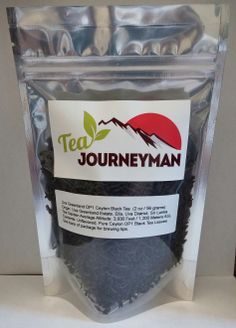 Uva Greenland OP1 Ceylon Black Tea Two Ounce (56 g) Packet. Now available at http://www.teajourneymanshop.com.