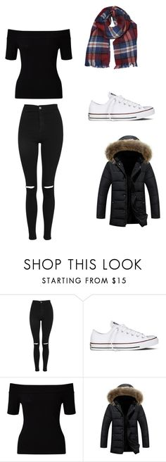 """Untitled #203"" by ellzann ❤ liked on Polyvore featuring Topshop, Converse, Miss Selfridge and Dorothy Perkins"