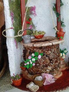 Diy Y Manualidades, Gnome House, Elmo, Gnomes, Ladder Decor, Decoupage, Diy And Crafts, Cactus, Tiles