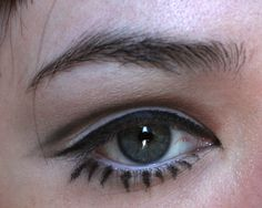 "Rookie: ""mod eye makeup in like five minutes"""