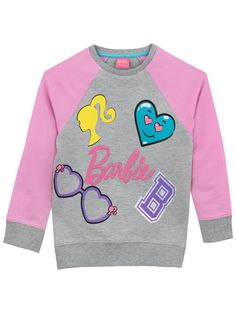 b176e6879c95e New Barbie Girls  Logo Sweatshirt online. Find the perfect Amy Byer girls  clothing from top store.
