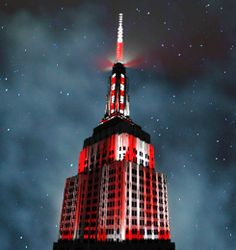 Catch Empire State building's first-ever Christmas light show (Photo courtesy Empire State Building)