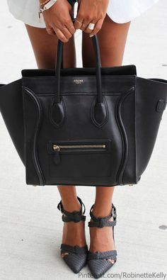 Love the bag n shoes