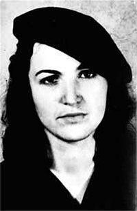 """Tamara Haydée Bunke Bider (1937 – 1967) Conocida como """"Tanya la guerrillera,"""" era la brillante militante de izquierda quíen acompañó a Ernesto """"Che"""" Guevara en las montañas de Bolivia adonde murieron en una emboscada por los Rangers del ejército boliviano CIA asistida. Llevaba en su vientre el hijo del argentino,"""