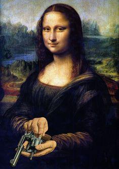 A Museum Quality Art Print of Mona Lisa by Leonardo da Vinci. This oil on popular board was painted by Da Vinci between the period of 1503 to around Le Sourire De Mona Lisa, Mona Friends, La Madone, Mona Lisa Parody, Mona Lisa Smile, Photocollage, Italian Artist, Oeuvre D'art, Art History