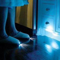 I could see these being used for my kids when going to the bathroom at night.