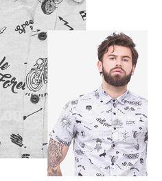 fd837084e7a Estampas é a nova tendência de moda masculina. Veja mais ideias e  inspiraçòes para você