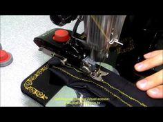 Máquina de costura Singer 15C fazendo ponto zig-zag e decorativos - YouTube Sewing, Youtube, Pasta, Sewing Machine Accessories, Sewing Tips, Craft Videos, Busy Bags, Sew, Ideas