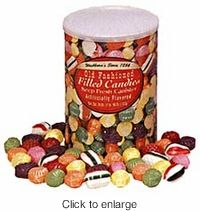 old fashion hard filled christmas candy this is a traditional christmas candy from the past