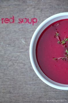 soupy kaspar - red soup. // nikesherztanzt #vegan #veggie #suppen #rezept Curry, Cantaloupe, Salsa, Soup, Fruit, Ethnic Recipes, Red, Soups And Stews, Red Bell Peppers