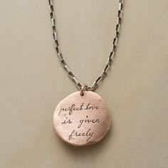 GIFT OF LOVE NECKLACE: View 1