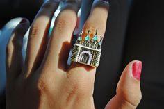 Disney World Castle Ring Disney Style, Disney Love, Walt Disney, Disney Couture Jewelry, Disney Jewelry, Clothes Pictures, Disney Addict, Disneybound, Diamond Are A Girls Best Friend