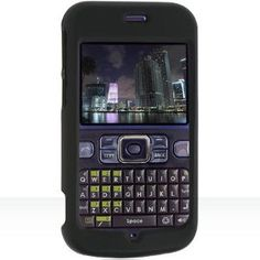 Silicone Skin Protector Case Cover Black For Sanyo 2700
